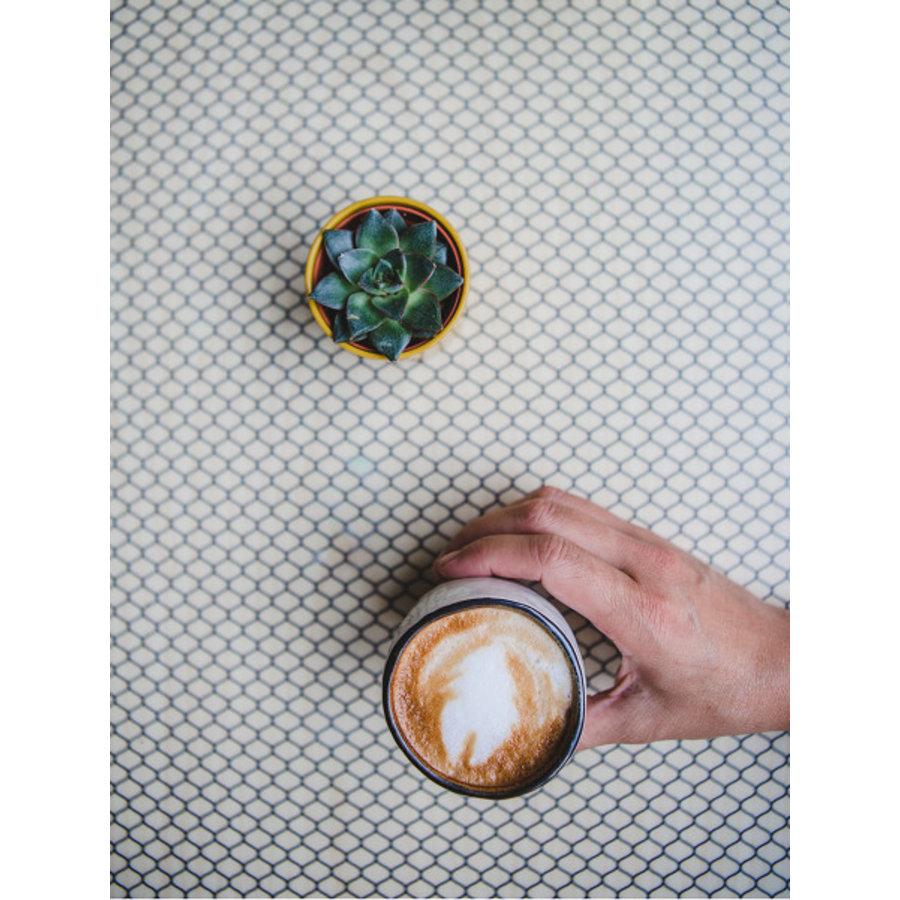 Hessian Koffie Mok
