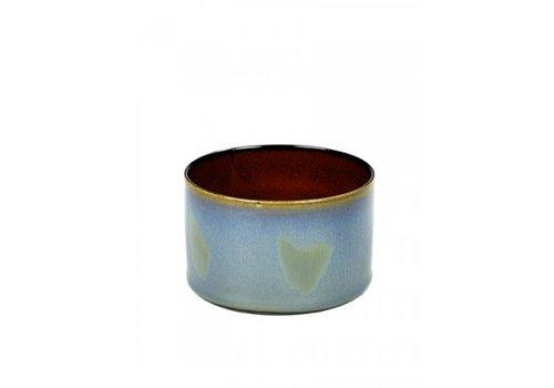 Serax Cilinder Laag Roest Rokerig Blauw