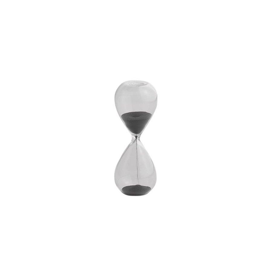 Zandloper Zwart - 3 Minuten