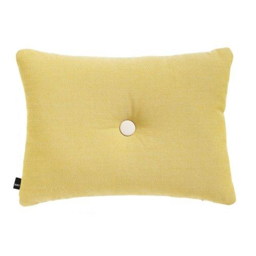 Dot Kussen Geel 45 x 60 cm