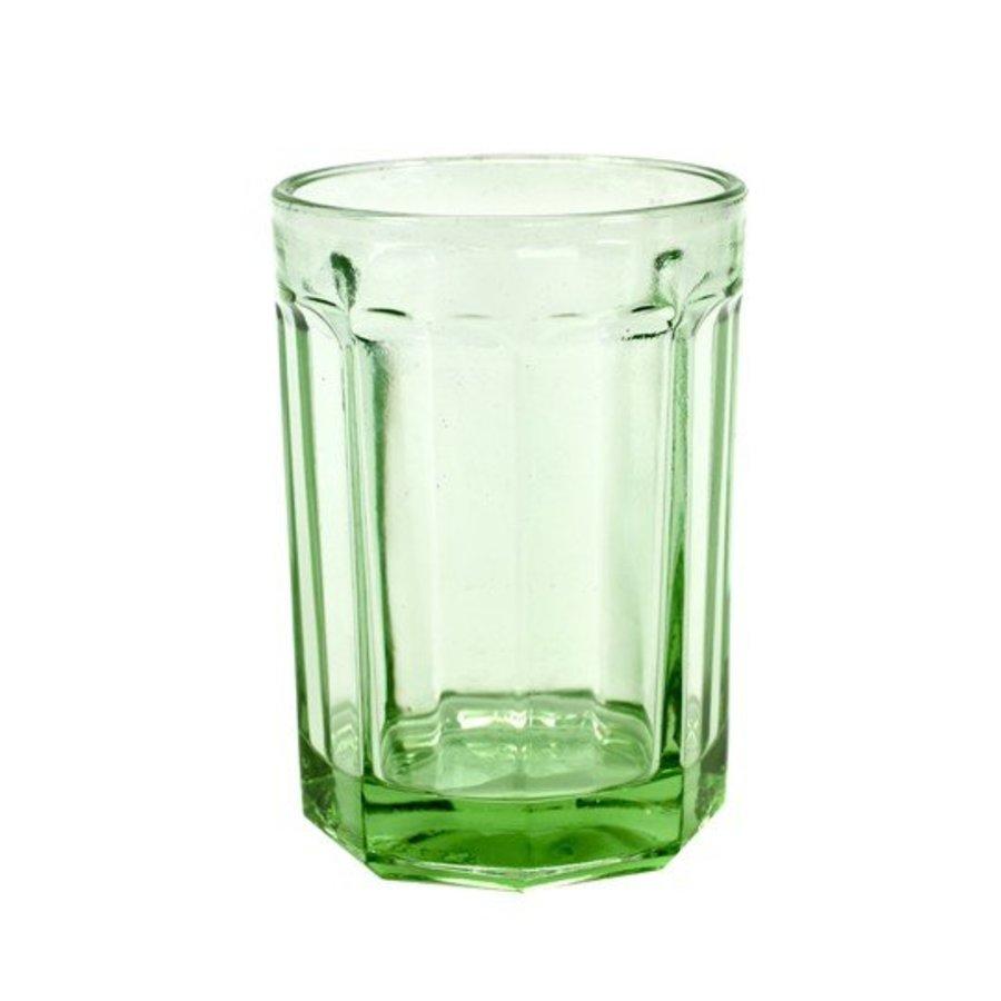 Transparant Groen Glas Groot