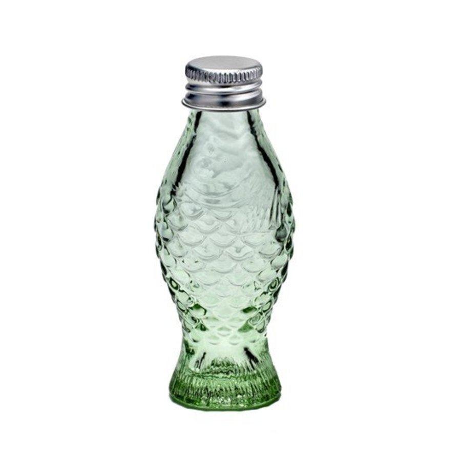 Vis Flesje Transparant Groen (5 stuks)