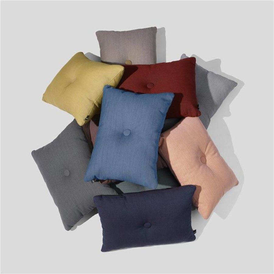 Dot Kussen Blauw 45 x 60 cm