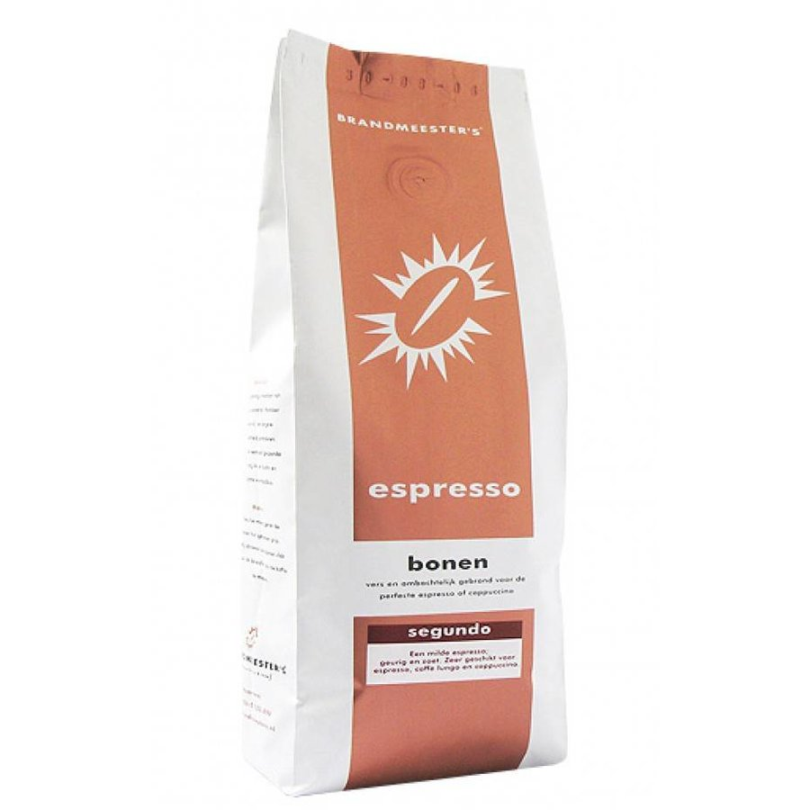 Segundo - Koffiebonen 500 gram