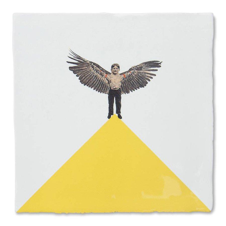 Vliegende Hollander (10 x 10 cm)