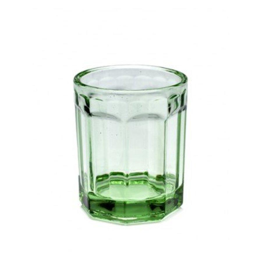 Transparant Groen Glas Klein (2 Stuks)