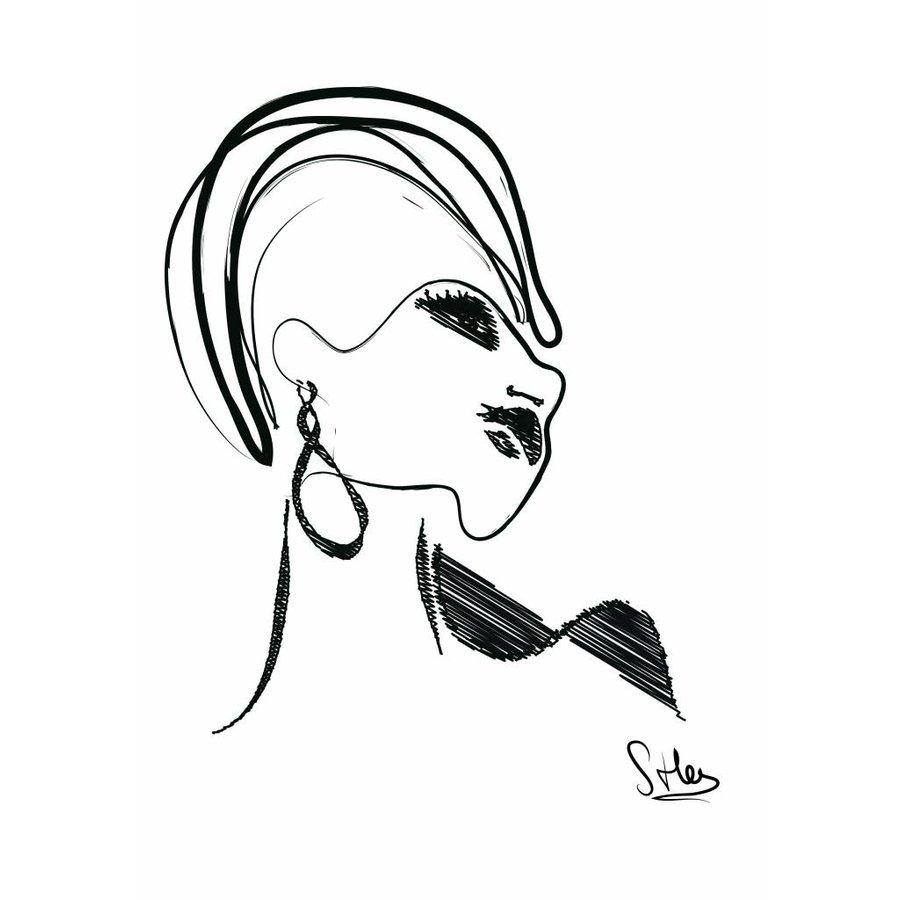 Elegant (30x40) - Met lijst