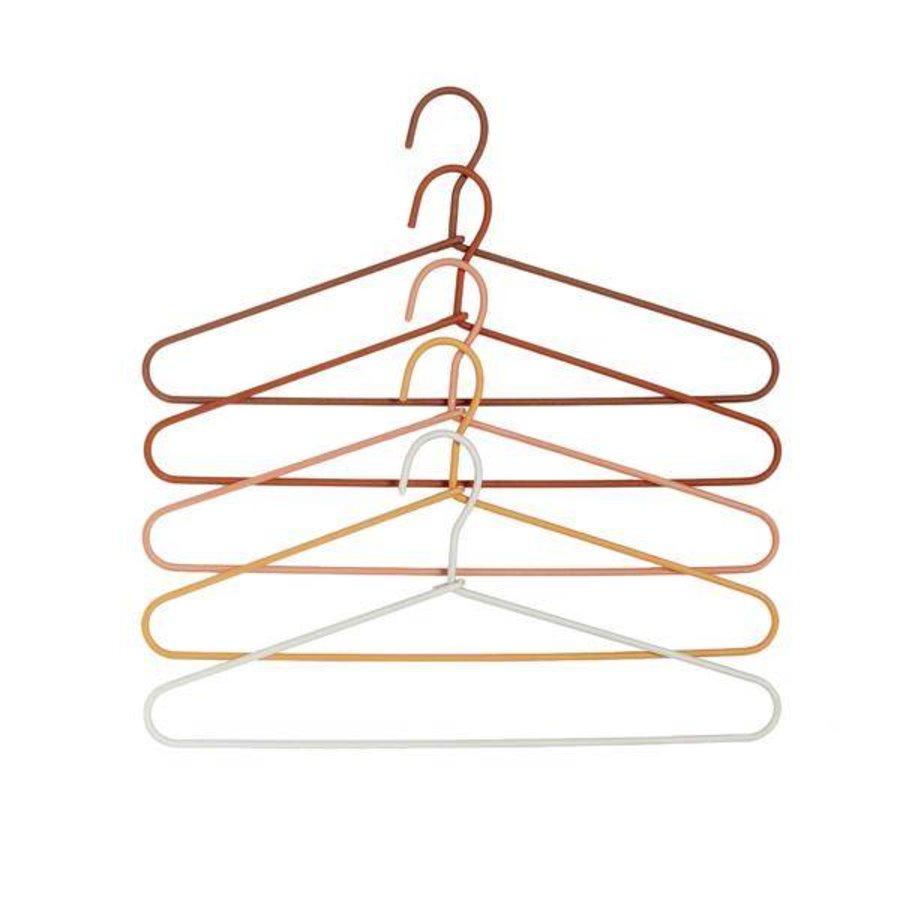 Kledinghangers - Oranje tinten (5 stuks)