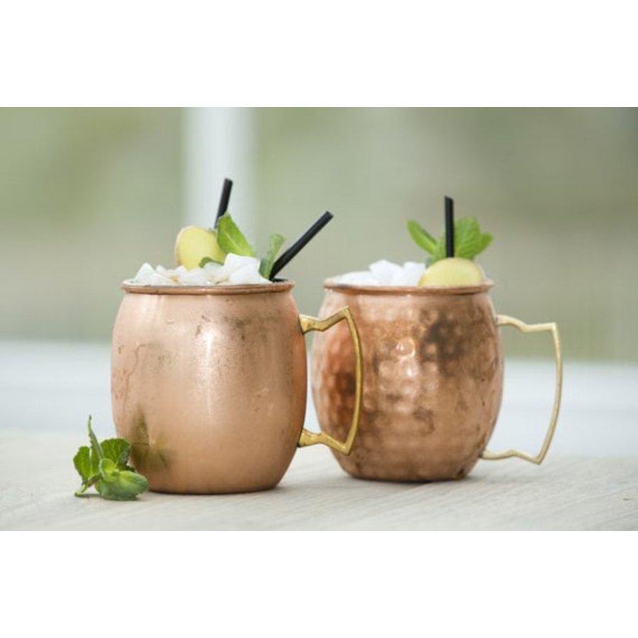 Moscow Mule Cocktailbeker Geslagen Koper - (2 stuks)