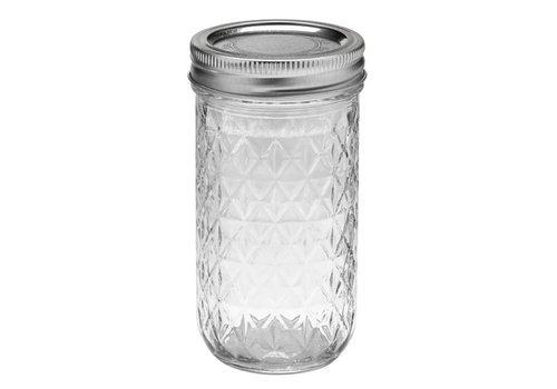 MasonJars Kristal 375 ml - (6 stuks)