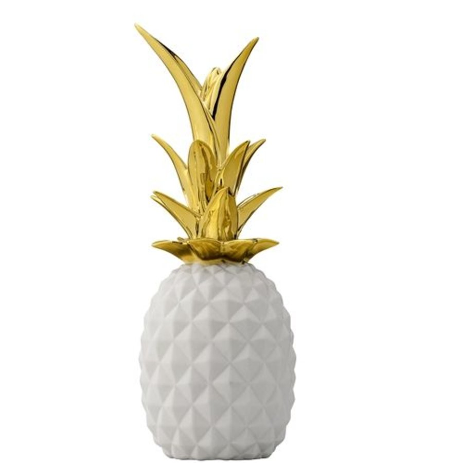Ananas Wit/Goud