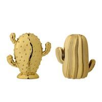 Cactus set goud (2 stuks)