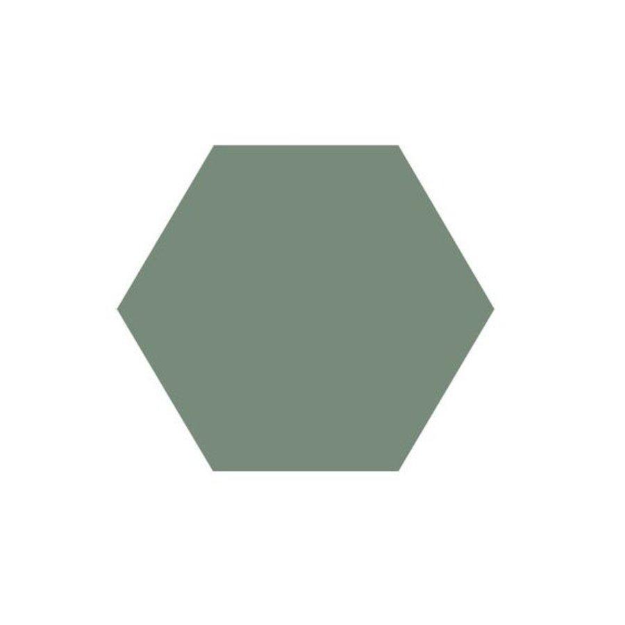 Hexagon Tegel Lichtgroen - Per 0.5M²