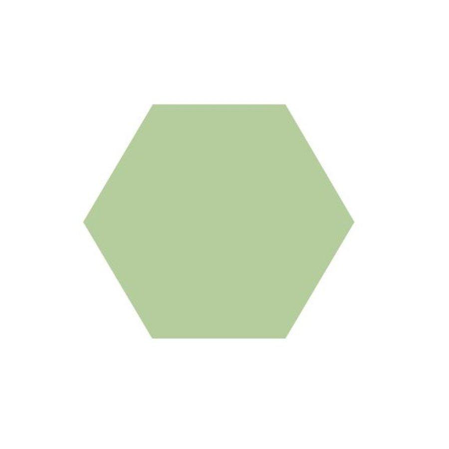 Hexagon Tegel Pistache - Per 0.5M²