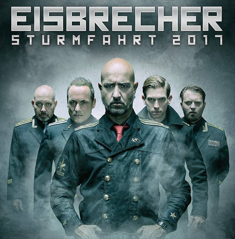 """EISBRECHER """"STURMFAHRT"""" 2017 LEIPZIG / 6-FRIENDS TICKET"""