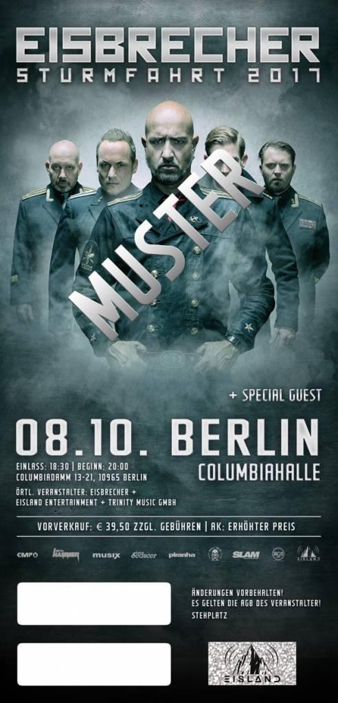 """EISBRECHER """"STURMFAHRT"""" 2017 BERLIN"""