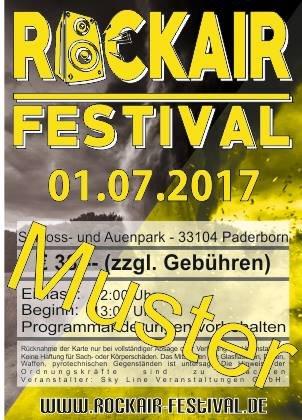 ROCKAIR FESTIVAL 2017 (*) Agenturware