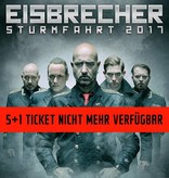 """EISBRECHER """"STURMFAHRT"""" 2017 STUTTGART / 6-FRIENDS TICKET"""