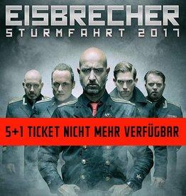 EISBRECHER 6 FRIENDS TICKET STUTTGART
