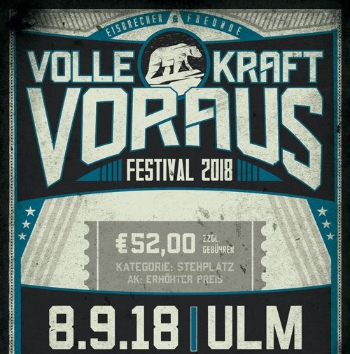 EISBRECHER + FRIENDS - THE 2nd VOLLE KRAFT VORAUS FESTIVAL 2018