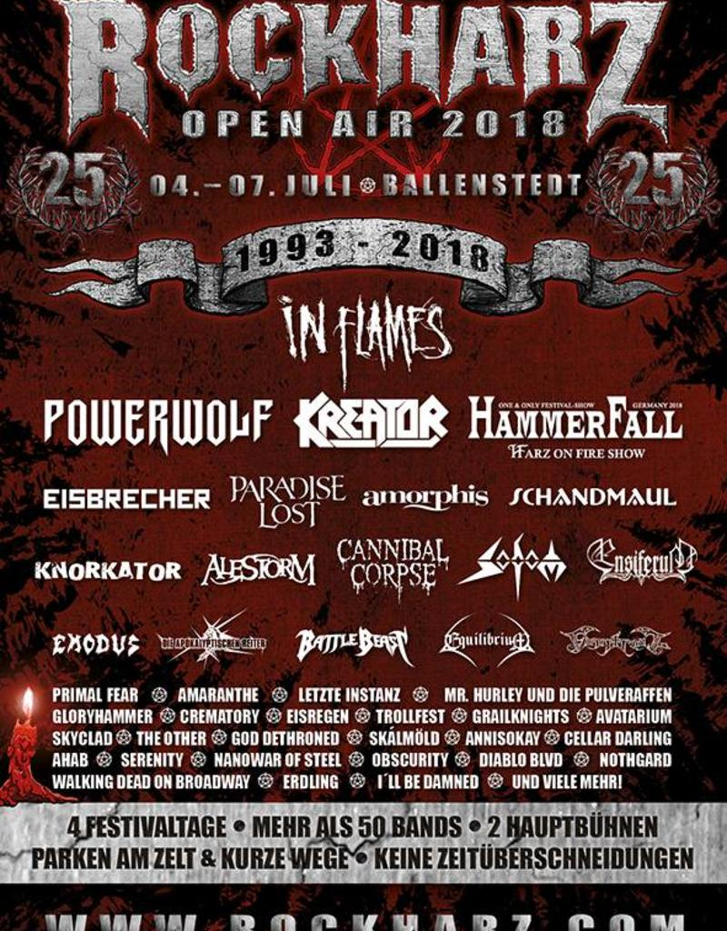 ROCKHARZ OPEN AIR 2018 - BALLENSTEDT (*)