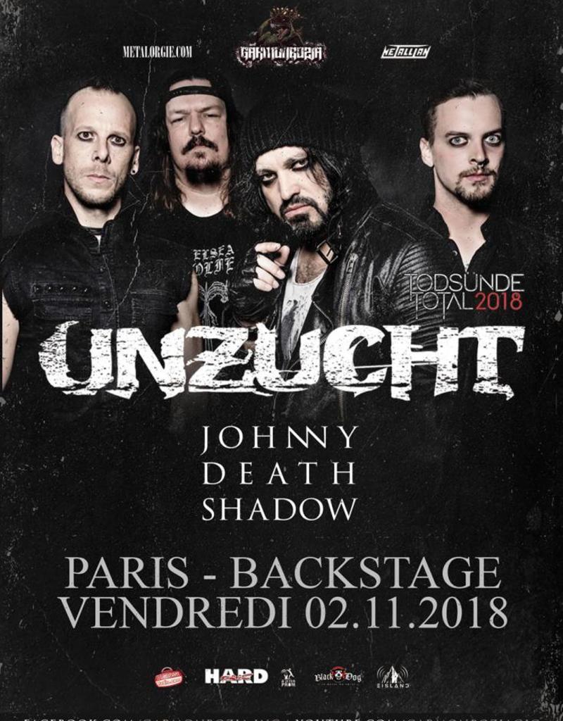 UNZUCHT 2018 - PARIS (*) Agenturware