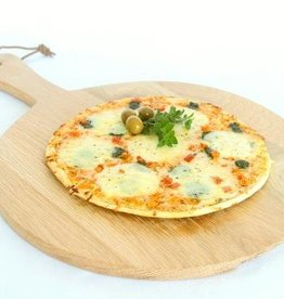 Pizza board with handle