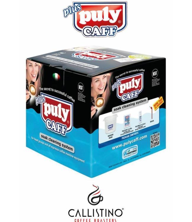 Puly Caff set voor dagelijks onderhoud