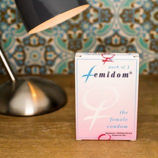 Femidom Nitriel vrouwen condoom