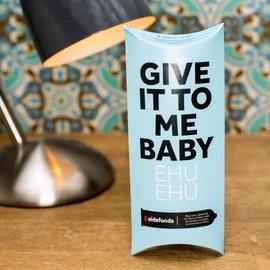 Pasante 6 condooms - Give it to me baby ehu ehu