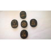 Wicca element stenen