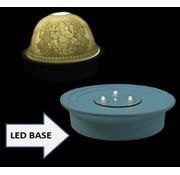 Porseleinen LED-basis voor sfeerlichten