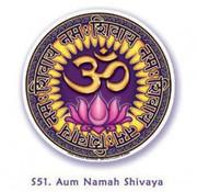 Raamsticker Ohm Namah Shivaya