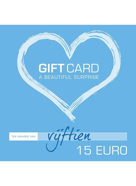Giftcard €15