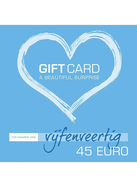 Giftcard €45