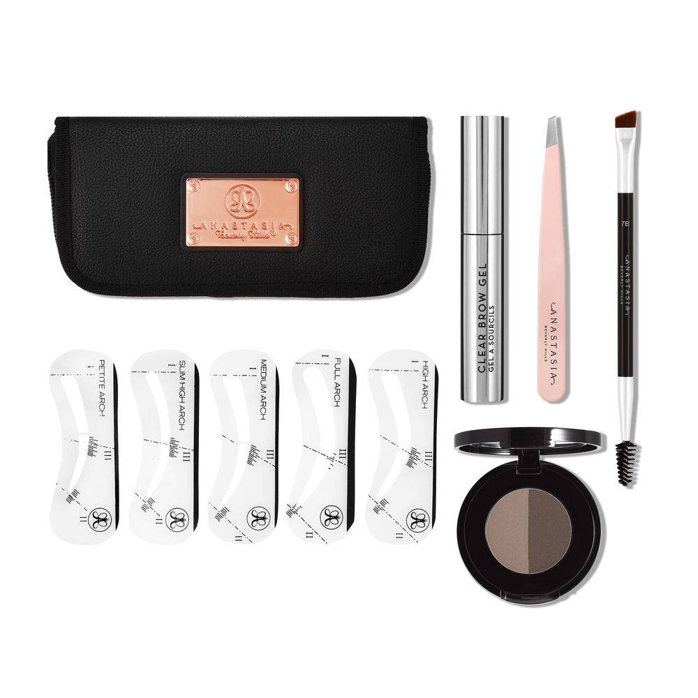Anastasia Beverly Hills 5 pieces kit - Dark Brown