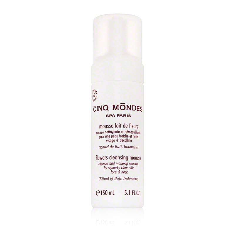 Cinq Mōndes Flowers Cleansing Mousse - 150 ML