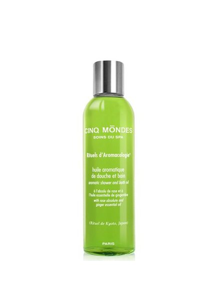 Cinq Mōndes Phyto-Aromatic Shower&Bath Oil - Kyoto - 200 ML