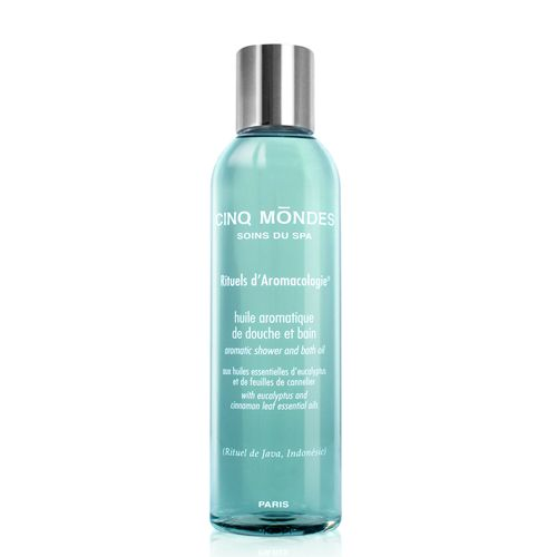 Cinq Mōndes Phyto-Aromatic Shower&Bath Oil - Java - 200 ML
