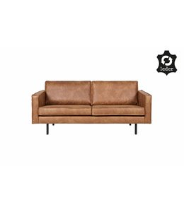 Be Pure Home Rodeo Sofa 2,5-Sitzer Cognac