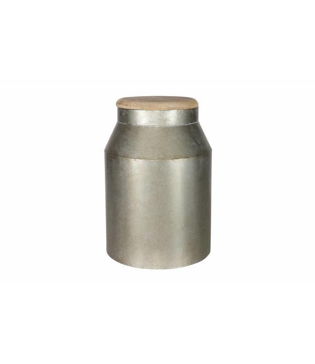 Be Pure Home Barrel Dekoration Kanne Groß - Metall