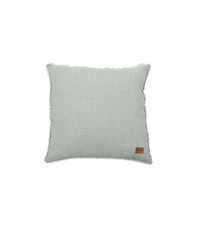 Be Pure Home Tassel Leinenkissen Grün 45 X 45 Cm