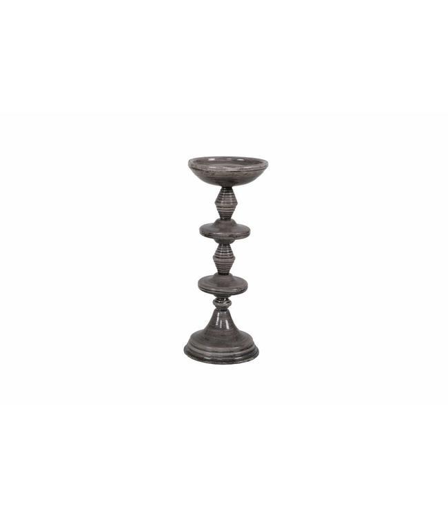 Be Pure Home Kerzenständer Grey Groß