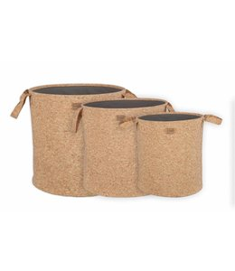 Be Pure Home Set Pure Cork Körbe In 3 Größen S/3