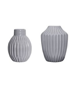Bloomingville Vases - Cool Grey 2 Stk.