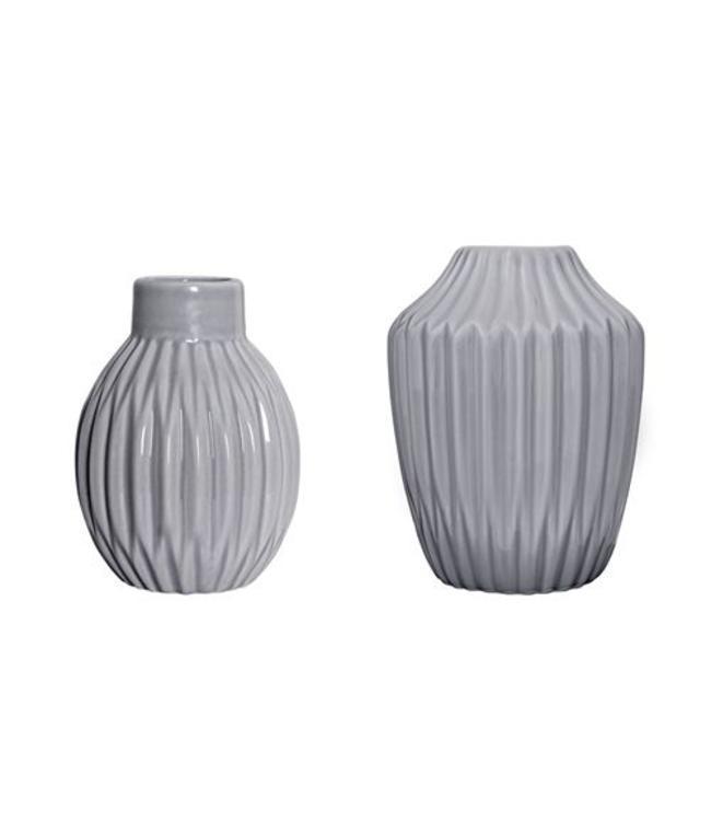 Bloomingville Vases - Cool Grey 2 Stk.