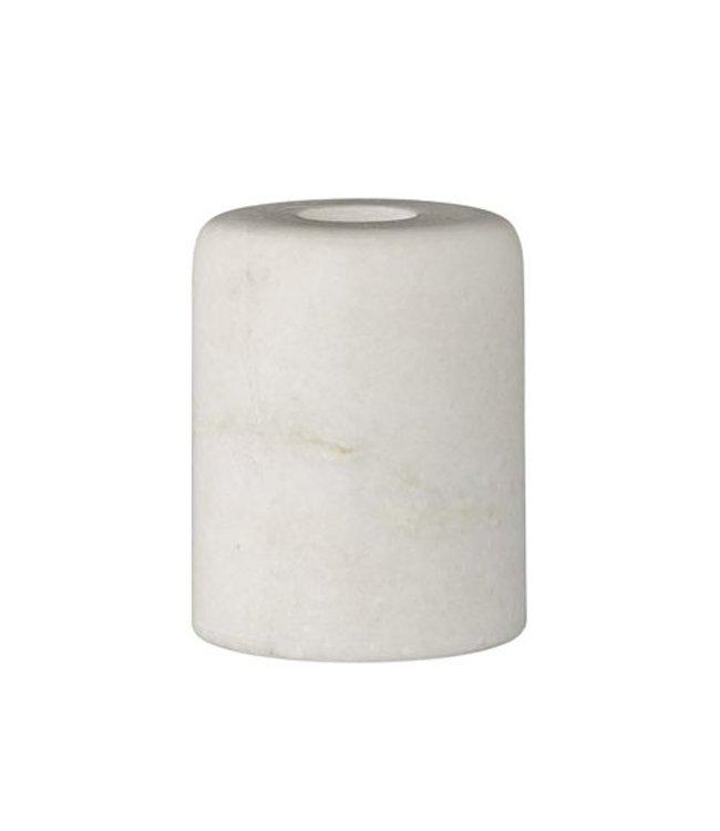 Bloomingville Kerzenleuchter - Weiß Marmor