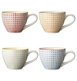 Bloomingville Carla Cup 4 Stk. - Multi-Color