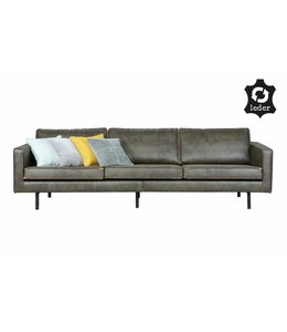 Be Pure Home Rodeo Sofa 3-Sitzer Army Green