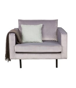 Be Pure Home Rodeo Loveseat 1,5 Sitz - Velvet Grau